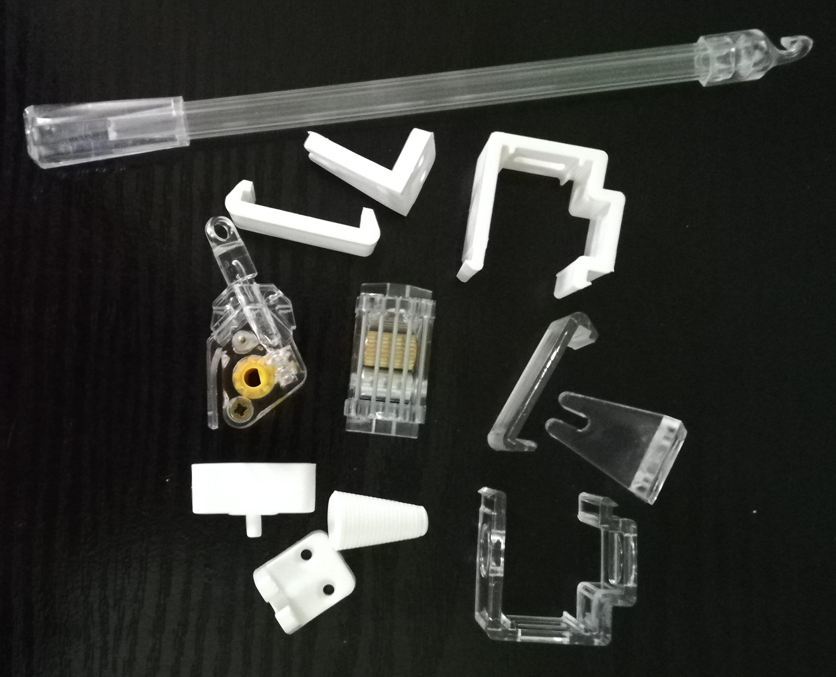 Części do żaluzji poziomych aluminiowych